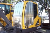 Excavator Security Covers: Aluminum Security Guards